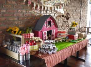 Farm Decorations For Home Kara S Ideas Mcdonald Farm Themed Birthday