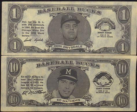 Return Item Bought With Gift Card For Cash - 1962 topps baseball bucks buy baseball cards buy vintage baseball cards for cash