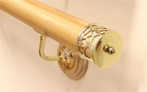 banister ends handrail end caps metal stair parts jackson woodturners