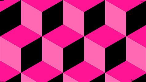 Cubes Pink wallpaper pink 3d cubes black ff1493 ff69b4 000000 165