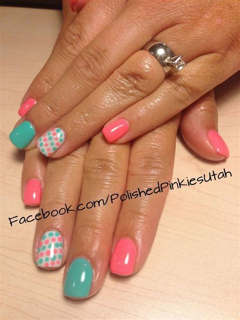 easy nail art for summer 15 easy polka dot summer nail art ideas to get inspiration