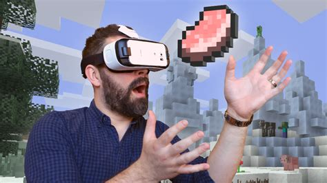 Vr Minecraft minecraft arrives on gear vr today