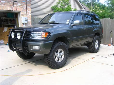 land cruiser lifted 1999 toyota land cruiser 100 pictures information and