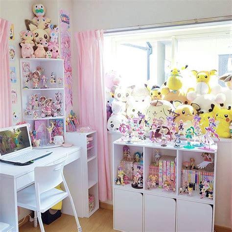 otaku bedroom pin by biohazardous cringe on bookshelves and bedrooms