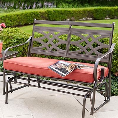 patio bench cushions bench patio furniture outdoorlivingdecor