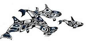 whale tribal armband by aluc23 on deviantart