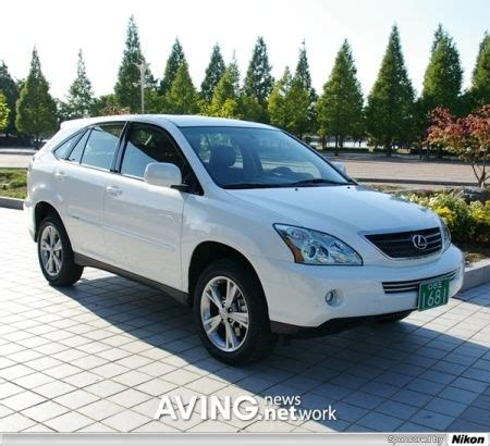 lexus crossover 2008 the hybrid suv lexus rx hybrid 08 green car for 2008