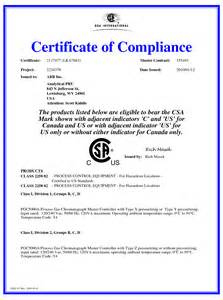 certificate of conformity template free canadian certificate of conformity