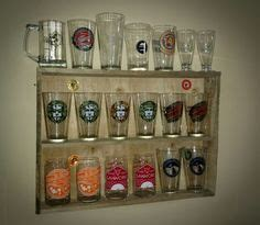 pint glass display cabinet details about beer pint glass display shelf 24 place