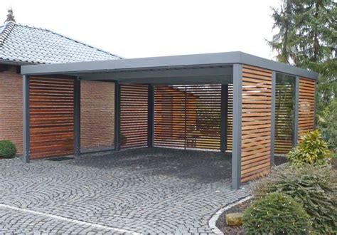 carport aus metall carport metall 3 carport aus metall mit flachdach