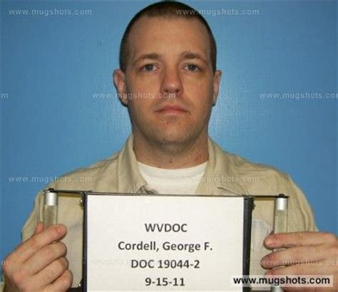 Wood County Wv Court Records George F Cordell Mugshot George F Cordell Arrest Wood