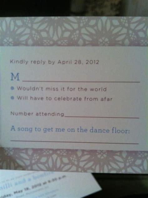 wedding guest rsvp card templates pin by genna carey on wedding