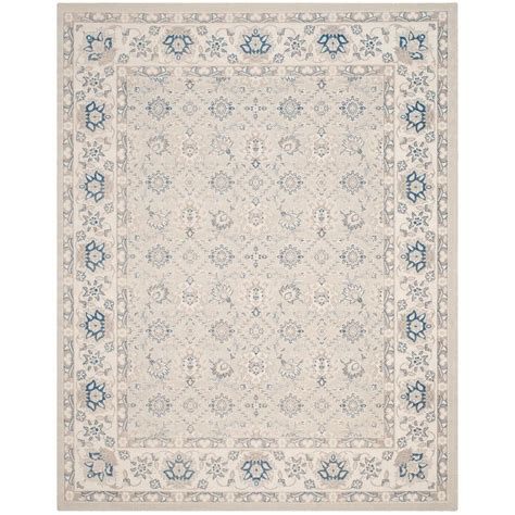 Blue Area Rug 8 X 10 by Safavieh Patina Light Blue Ivory 8 Ft X 10 Ft Area Rug