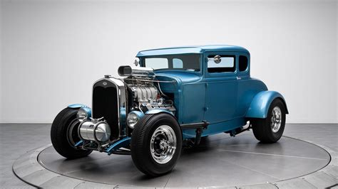 model of ford blue 1931 ford model a hd desktop wallpaper widescreen