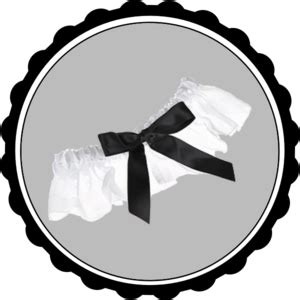 Wedding Garter Clip by Garter Clip At Clker Vector Clip