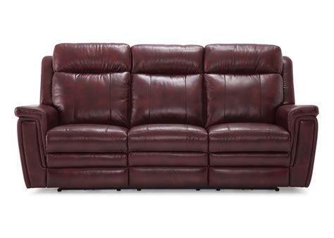 ashley leather power reclining sofa set  adjustable