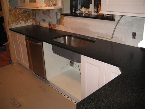 Black Pearl Countertops by Black Pearl Brushed Granite Color Fabricated And Installed