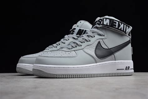 nba  nike air force  high statement game flight silver