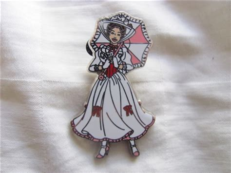 pin by mary poppins on disney trading pin 106702 mary poppins white dress