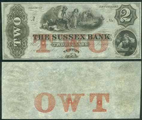 Bank Letter Sussex New Jersey