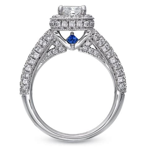 what a cool idea verawang engagement wedding ring ideas