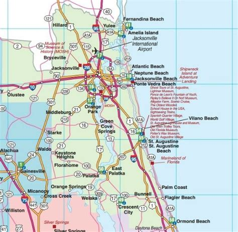 road map florida florida road maps statewide and regional