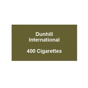 Dunhill International Menthol 20 dunhill cigarettes