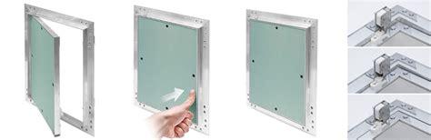 Revisionsklappe Aluminium Rahmen 12 5 Mm Gk Einlage