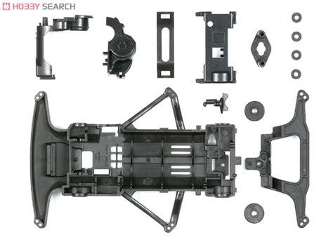Tamiya 18085 Vs Chassis Set Purple carbon fm chassis set mini 4wd images list