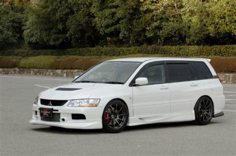 mitsubishi evo wagon 2004 lancer ralliart sportback to evo wagon how much work