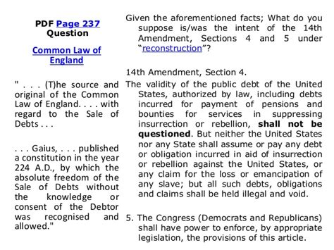14th Amendment Section 4 Meaning by The Theory And Practice Of Banking A Power Point Presentation