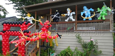 Dragon Decorations For A Home ninjago theme birthday party seattle balloon decorations