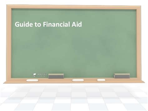 Mba Financial Aid Tips by Guide To Financial Aid