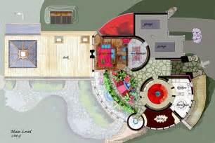 Floor Plans For Sims 3 mountain castle earthship dream house pinterest