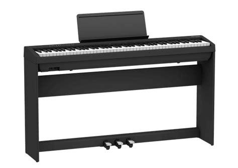 roland fp  bk portable piano schwarz homeset bauer