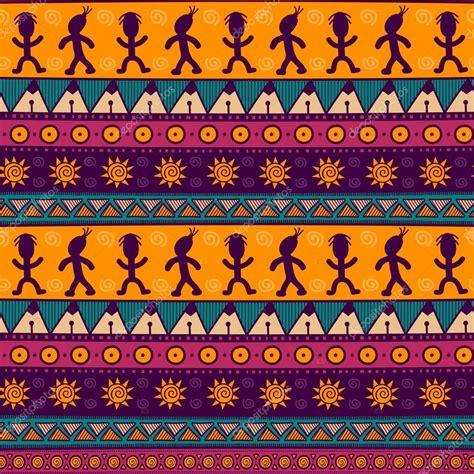 imagenes de fondos aztecas patr 243 n sin fisuras tribal 233 tnico colores de fondo azteca