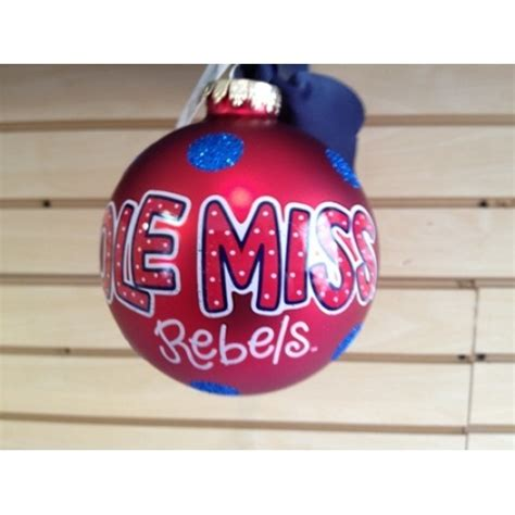 ole miss ornaments ole miss rebels ornament anything everything ole miss