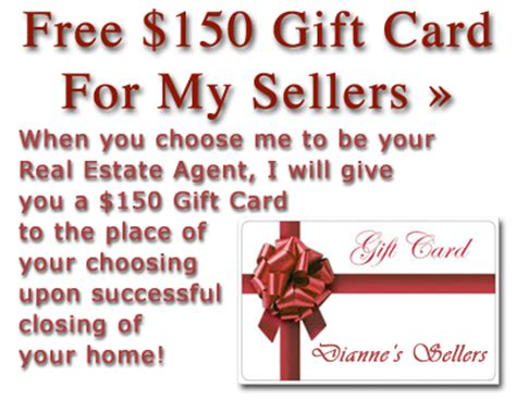 free seller gift card real estate properties santa fe