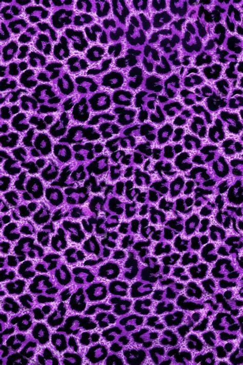 print a wallpaper purple leopard background image