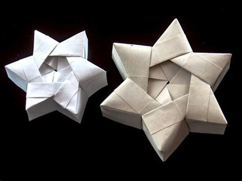 How To Make An Origami Of David - origami caja para regalo en forma de estrella taringa