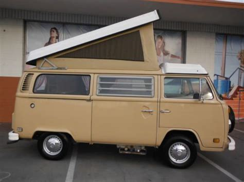 volkswagen van original interior sell used 1979 vw bus westfalia quot original factory paint