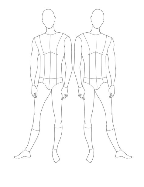 fashion design figure drawing templates fashion croquismale fashion croquis templates