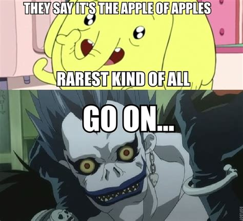 Tree Trunks Meme - tree trunks ryuk perfect geekdom pinterest