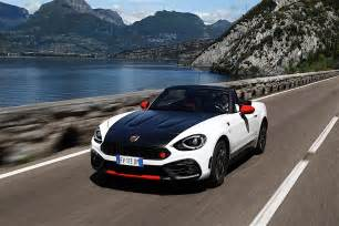 Fiat 134 Spider Fiat 124 Abarth Spider 2017 Autoevolution