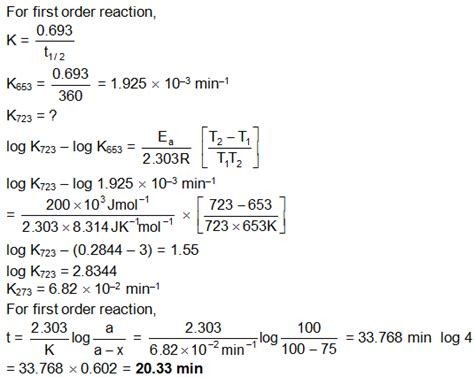 Tutorial Questions On Chemical Kinetics | solved exles chemical kinetics askiitians