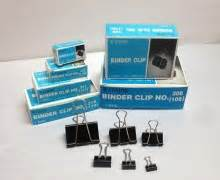 Binder Clip 5 Ukuran warrior no 309 109 binder clip 1 5 8 quot 41mm 12pcs wah