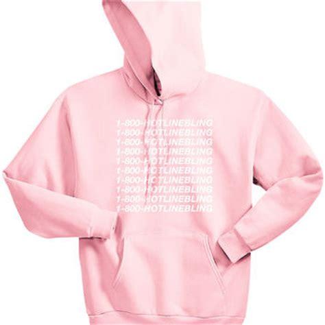 Hoodie Unisex Pink Berkualitas 1 1 800 hotlinebling hoodie ovo from akdkny on etsy