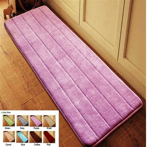 memory foam rugs for bathroom antislip velvet bathroom door mat absorbent bath mat slow