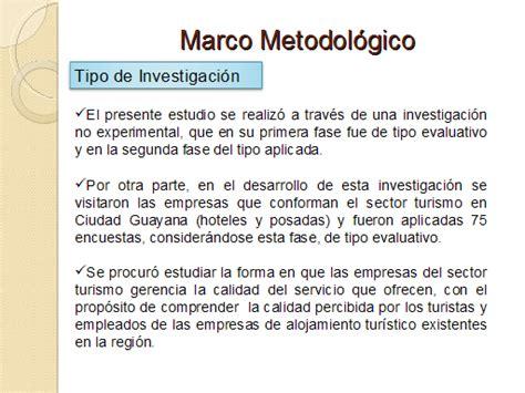 marco conceptual ejemplo tesis universidad de puerto rico evaluaci 243 n de la calidad del sector turismo en ciudad