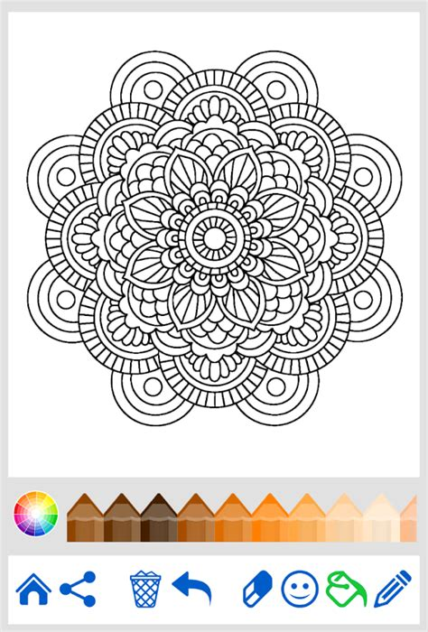 mandala coloring pages apk mandala coloring for adults android apps on play